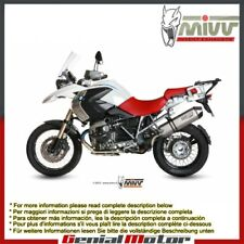 Mivv Exhaust Muffler Speed Edge Titanium Carbon Cap Bmw R 1200 Gs 2010 > 2012