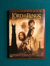 The Lord of the Rings: The Two Towers (Dvd, 2003, 2-Disc Set, FullScreen)