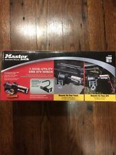 Master Lock 12V DC Electric ATV Sport Winch 1500lbs.