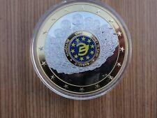 EURO Gigant Money in Cash Bargeld 70 MM  MEDAILLE  110 GRAMM 2009