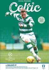 Celtic V Malmo FF 19/08/15 UEFA Champions League