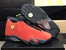 2014 Air Jordan 14 Retro Ferrari Size 14 EUC