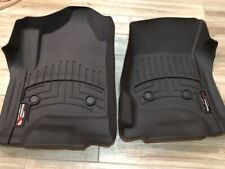 WEATHERTECH 2015 - 2019 GMC YUKON/DENALI FLOOR LINERS FRONT AND PASSENGER  COCOA