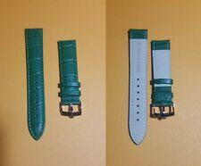 Cinturino vintage verde 20 mm con fibbia Rolex - STAINLESS STEEL BUCKLE