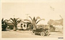 C-1915 Kingsburg Fresno California Realty auto RPPC Real photo postcard 6064