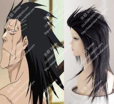 New Fashion Bleach Short Straight Zaraki Kenpachi Commission Cosplay Style Wig