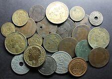 Lot de monnaies XIXè / XXè