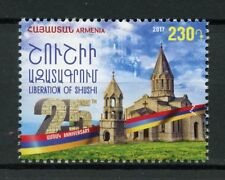 Armenia 2017 MNH Liberation of Shushi 25th Ann 1v Set Cathedrals Churches Stamps