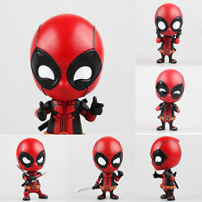 Cute Deadpool Action Figure Model Collection Toy Marvel Gift Car Doll Ornament X