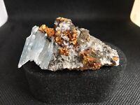 Blue Baryte Crystal, Morocco