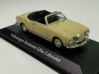 Maxichamps 940051031 VW Karmann Ghia Cabriolet 1955 Cream 1:43 Scale