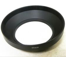 55mm Wide Angle Lens hood Metal for 24mm 28mm f2.5 f2.8 f2.0 Screw in