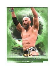 WWE Tommaso Ciampa #58 2017 Topps Undisputed Green Parallel Card SN 2 of 25
