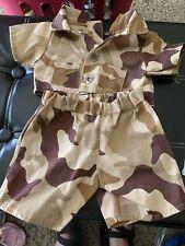 "BABW CLOTHES Outfit Build A Bear 15"" Army Military Camo Gear"