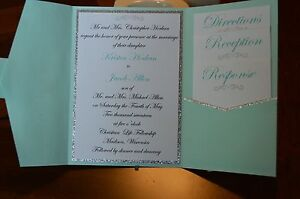 Custom Made Wedding Invites
