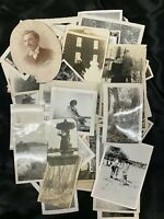 Lot of 50+ Vintage Snapshots Photos Miscellaneous Family Friends Americana