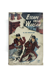 Escape From Warsaw Ian Serraillier Vintage PB 1963 Scholastic Illustrated T385