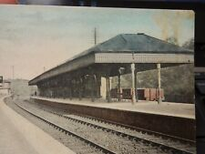 More details for  kirkcaldy   railway station  creased    stain noted   postcard