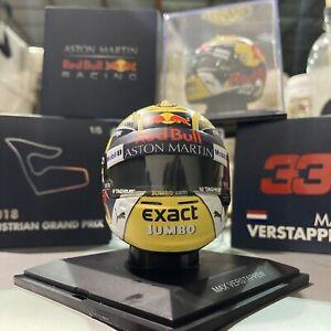Red Bull Racing Max Verstappen Mini Helmet Australian Grand Prix 2018