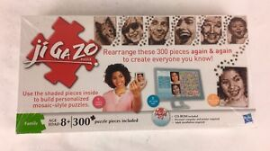 #B500 New Jigazo Puzzle 300 pieces  w/ CD ROM  Custom Puzzles  Sealed