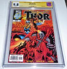 Thor #v2 #12 CGC SS Signature Autograph STAN LEE Wraparound Hercules Cover 9.8