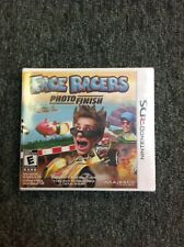 Face Racers Photo Finish Nintendo 3DS NEW Factory Sealed