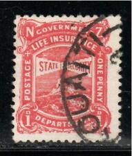 NEW ZEALAND STAMPS  LIFE INSURANCE CANCELED USED     LOT 39199