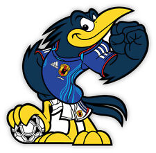 "JFA Japan 日本 mascot National Football Association sticker decal 4"" x 4"""