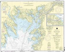 NOAA Chart Cape Cod Canal and Approaches 31st Edition 13236