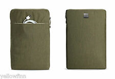 "MacBook 15"" Pro & Retina Zip Case Cover Sleeve Acme Made Montgomery Olive Green"