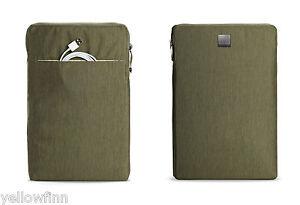 "MacBook 15"" Pro & Retina Zip Case Cover Sleeve Acme Made Montgomery Olive Green"