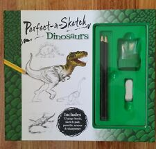 Perfect-a-sketch: Dinosaurs by Hinkler Books (Hardback, 2009)