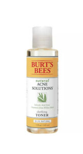BURT'S BEES ACNE SOLUTIONS CLARIFYING TONER 5 fl. Oz. new