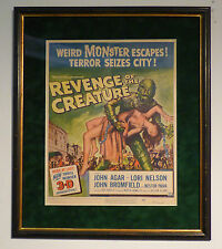 REVENGE OF THE CREATURE FROM THE BLACK LAGOON '55 ORIG WINDOW CARD MOVIE POSTER