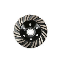 """4"""" 100mm Diamond Saw Blade Cup Shape Grinding Disc Wheel For Concrete Granite"""