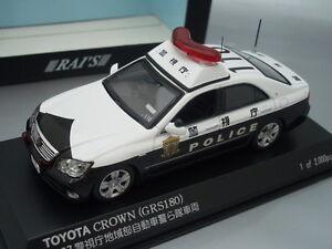 "1/43 Rai's TOYOTA CROWN (GRS180) ""TOKYO"" #110 PATROL CAR 2007"