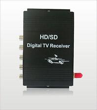 HD Brazil Chile Peru Isdb-t 4 Turner One Seg Car Digital Tv Receiver Tuner Box