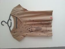 FEMME TAILLE 36/S T-shirt beige ESPRIT bon état