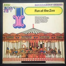 FUN AT THE ZOO BBC Childrens Roundabout LP Whipsnade 1969 Ludwig Koch Eric Simms
