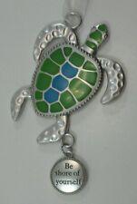 zzsd Be shore of yourself sea turtle Fun In The Sun Ornament Ganz