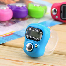 Stitch Marker And Row Finger Counter LCD Electronic Digital Tally Counter FH4JV