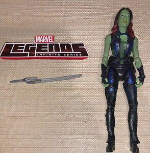 "Marvel Legends Guardians Galaxy Movie Groot BAF Build A Figure Series 6"" Gamora"