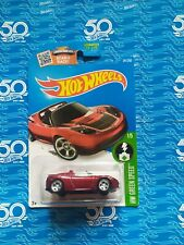 2016 Hot Wheels Super Treasure Hunt Tesla Roadster *In Protector*