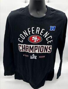 Men's San Francisco 49ers NFL Fanatics 2019 NFC Champions Long Sleeve T-shirt