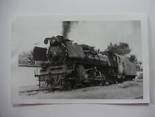 INDO60 - INDONESIAN STATE RAILWAY - STEAM LOCOMOTIVE D52033 PHOTO Indonesia