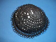 Ravissante charlotte, bonnet, chapeau en perles noire époque 1925 ...