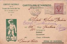 * MILITARE WWI - Comitato Naz.per Indumenti di Lana dei Soldati 1915