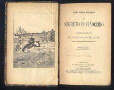 Rembadi Mongiardini, Il segreto di Pinocchio, Burattino del Collodi  1902  R