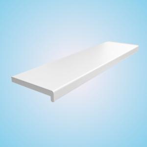 Appui de Fenêtre PVC Blanc - Intérieur Rebord pour + Embouts Capuchons