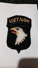 patch armee us 101th AIRBORNE DIVISION VIETNAM  original
